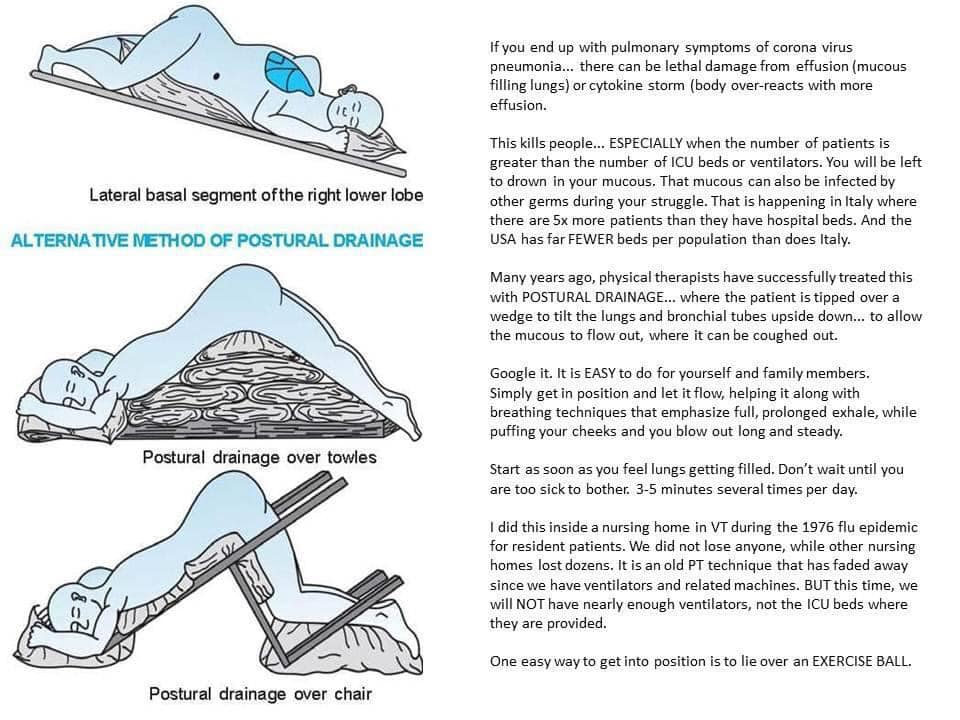 Tips for Draining Mucous